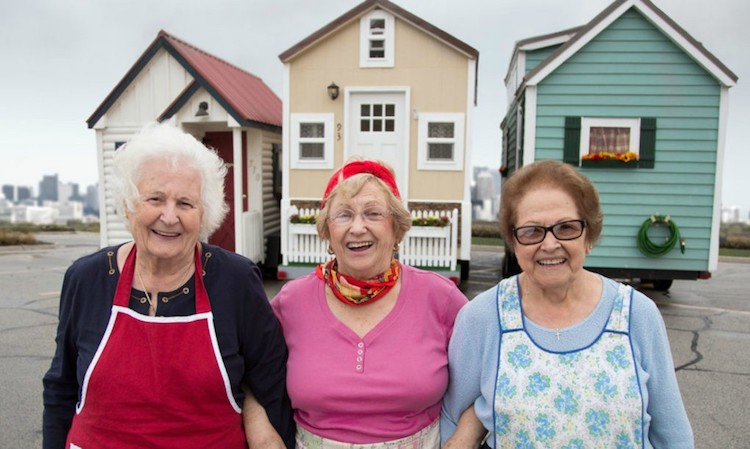 tiny house living for senior citizens