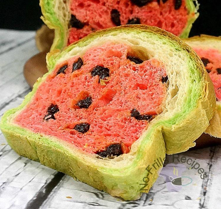 Watermelon Bread Recipe