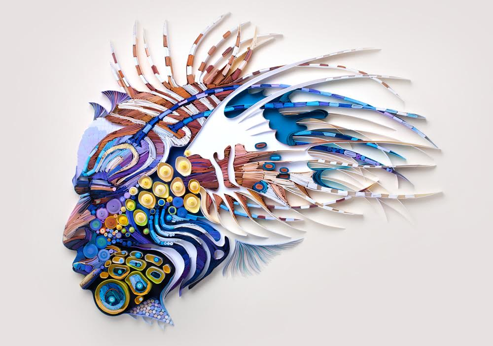 Creative Paper Art by Yulia Brodskaya