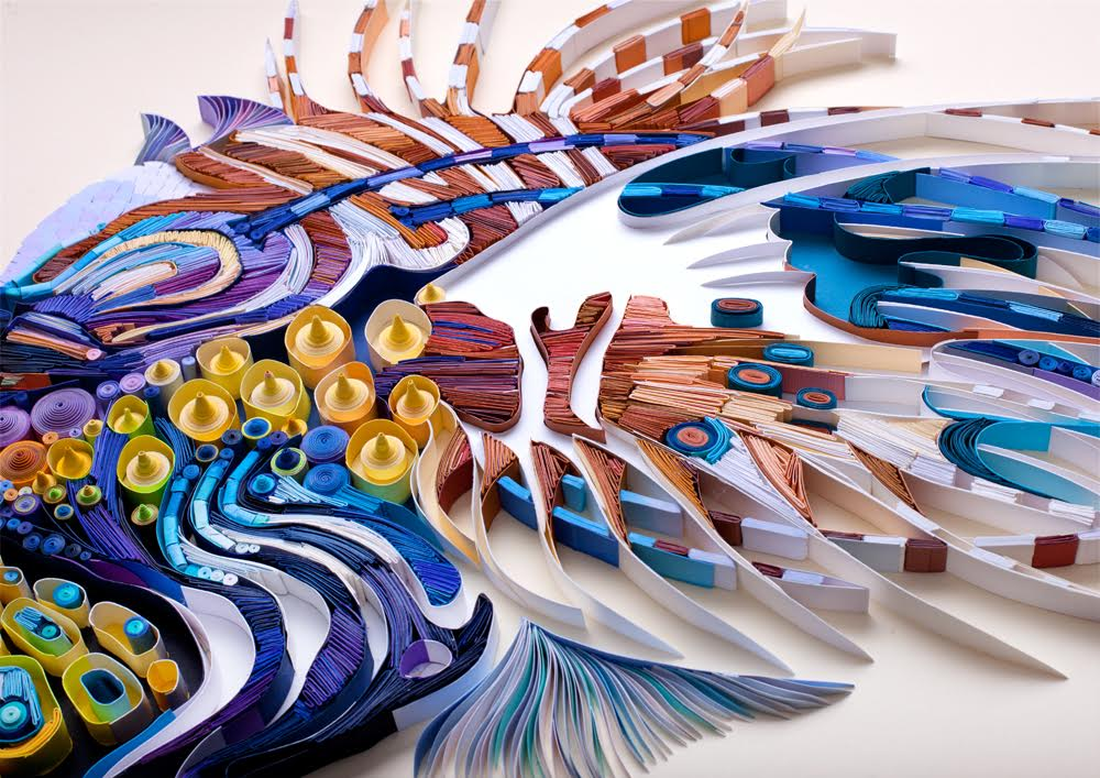 Quilled Paper Art by Yulia Brodskaya