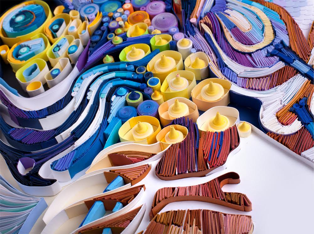 Colorful Paper Quilling Art by Yulia Brodskaya