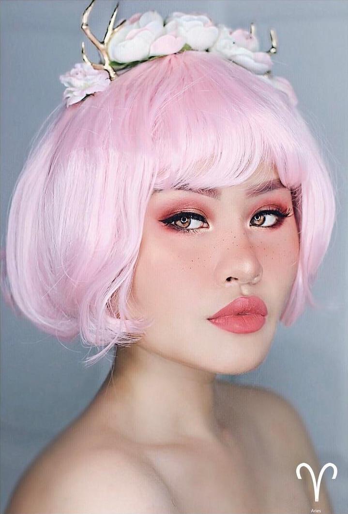 Aries Zodiac Makeup by Kimberly Money