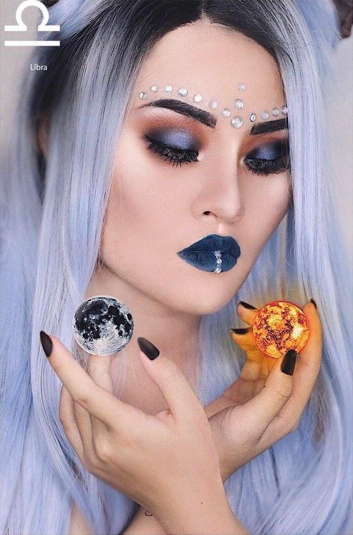 Libra Zodiac Makeup by Kimberly Money