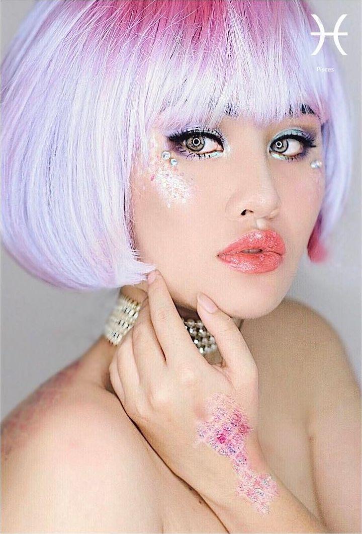 Pisces Zodiac Makeup by Kimberly Money