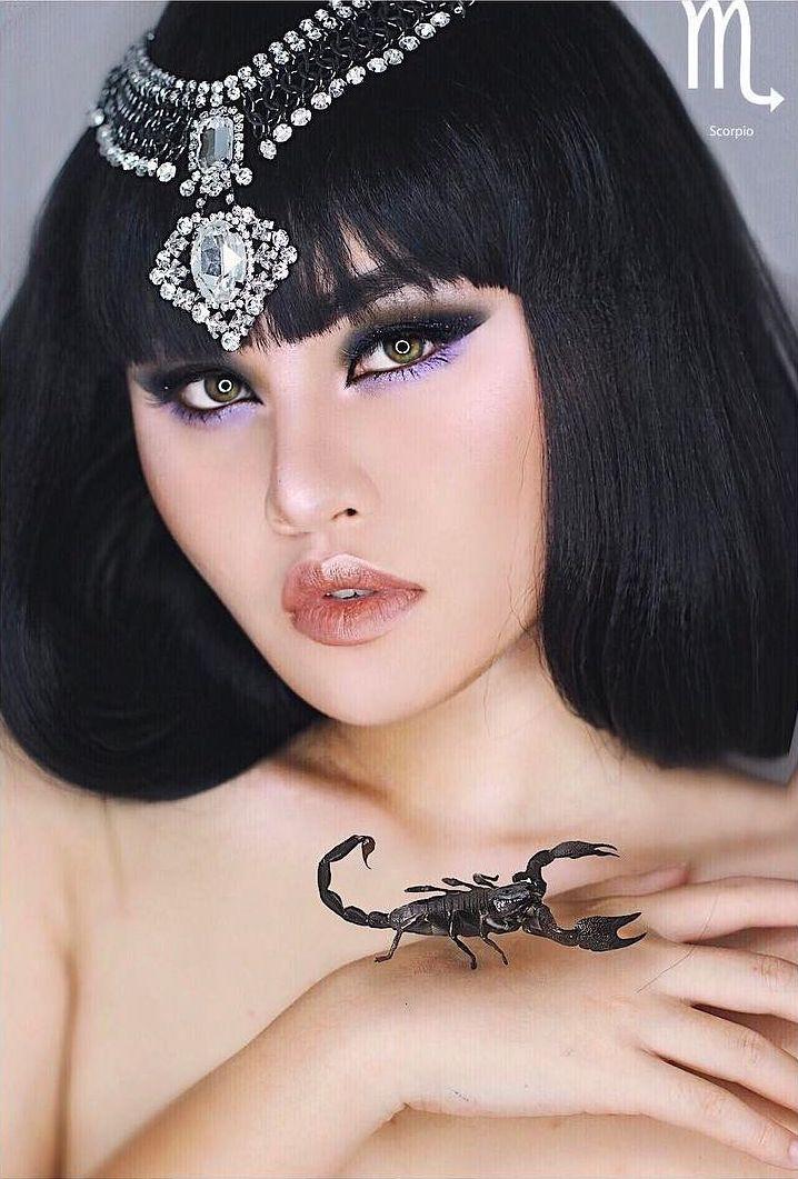 Scorpio Zodiac Makeup by Kimberly Money