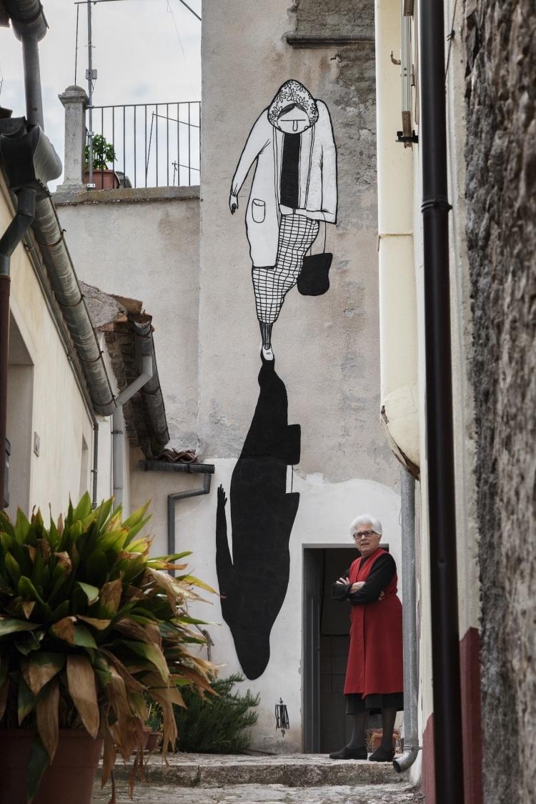 alex senna street art civitacampomarano