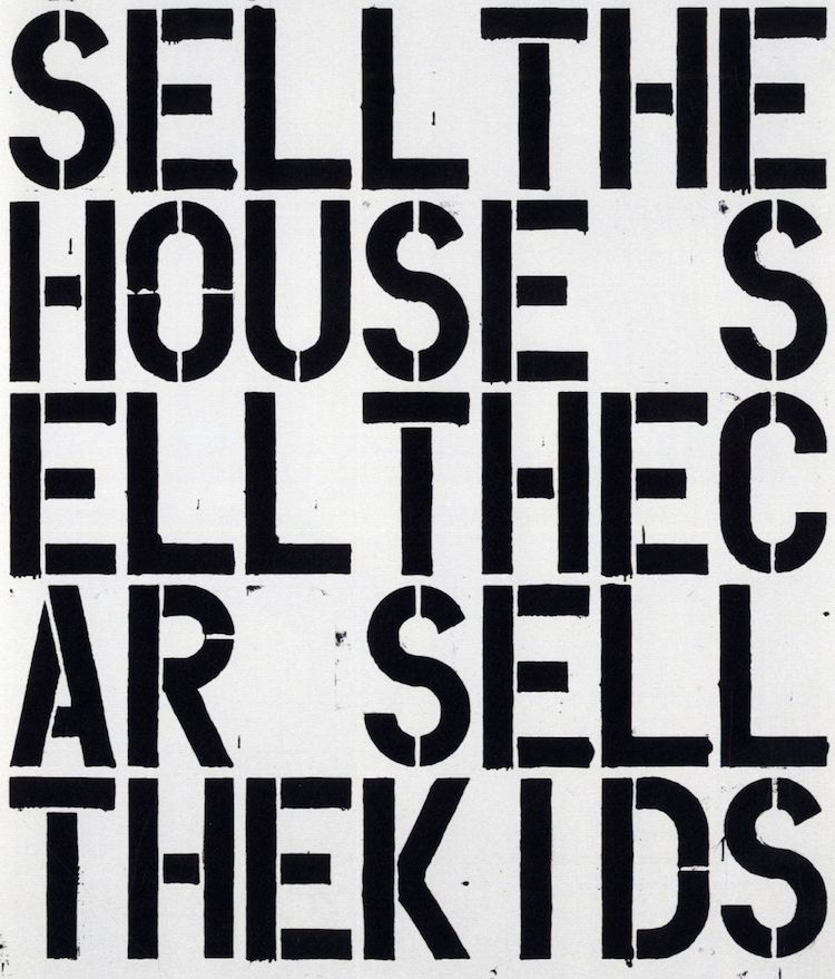 Christopher Wool - Apocalypse Now