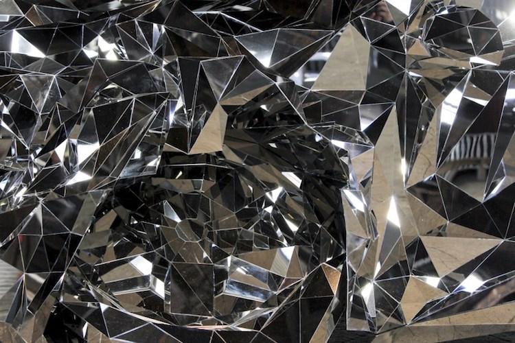 jordan griska stainless steel sculpture