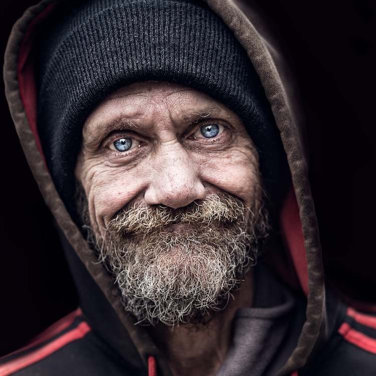 Pedro Oliveria Soul Inside portraits of homeless