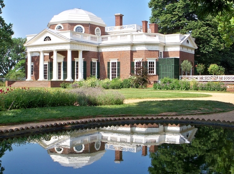monticello neoclassical architecture