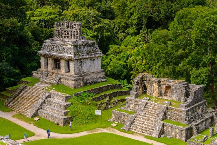precolumbian architecture palenque