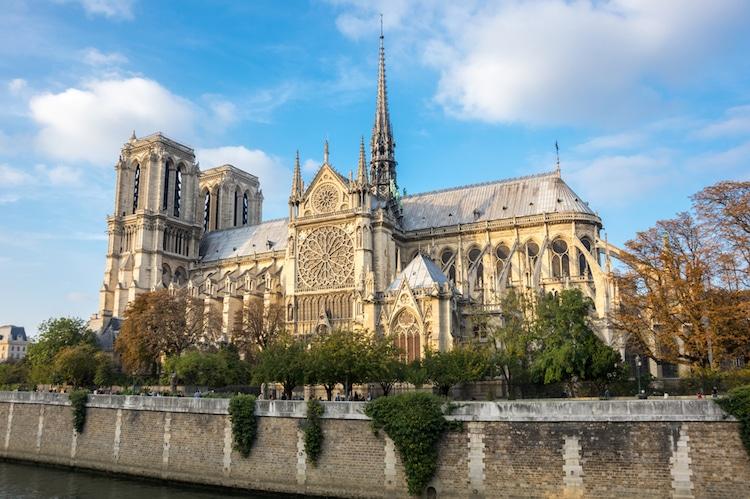 notre dame gothic architecture