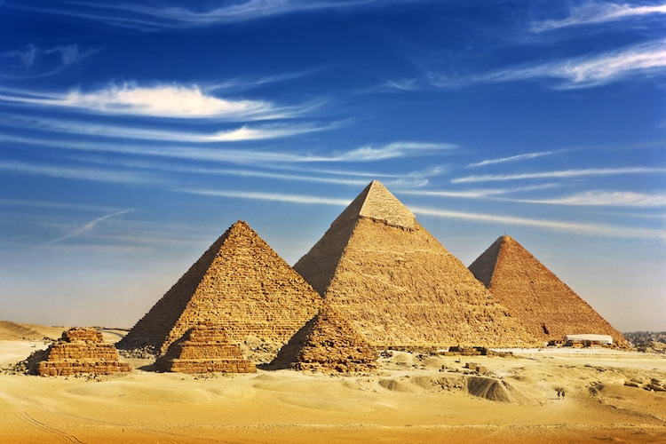 great pyramids giza egyptian types of architecture