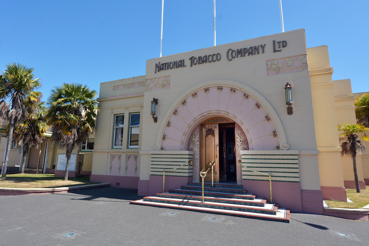 Napier Tabacco Building - Art Deco Architecture