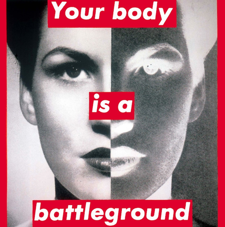 barbara kruger text based art