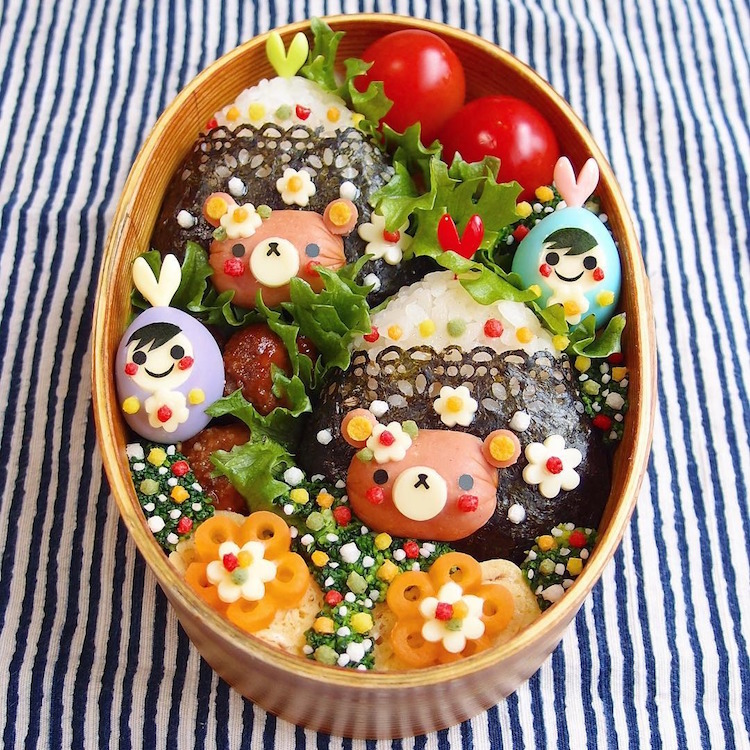 Pop Culture Bento Box Art Kinakobun
