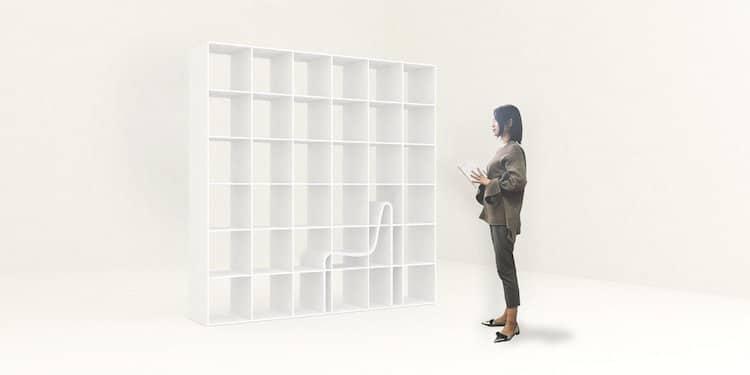 Bookchair Bookshelf Chair Sou Fujimoto