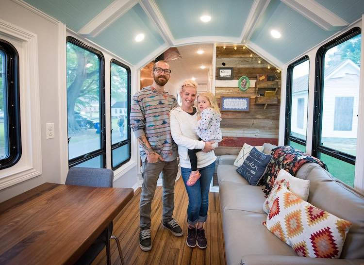 cómo transformar autobús en casa