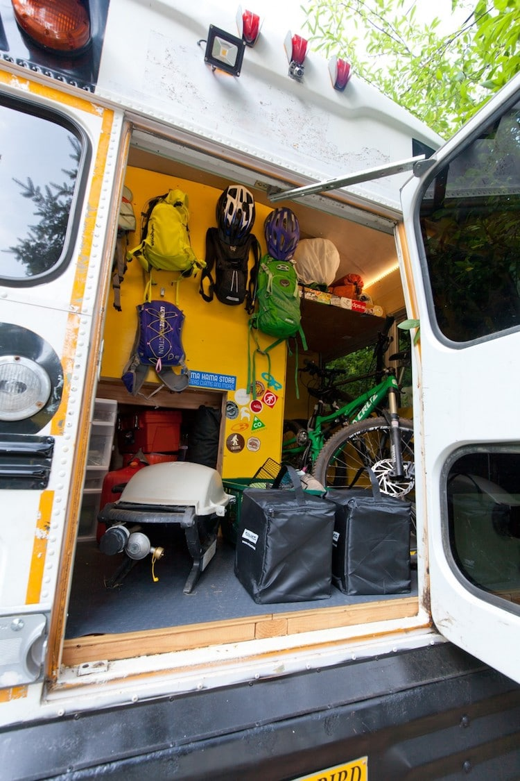 School Bus Conversion Transforms The Vehicle Into Spacious