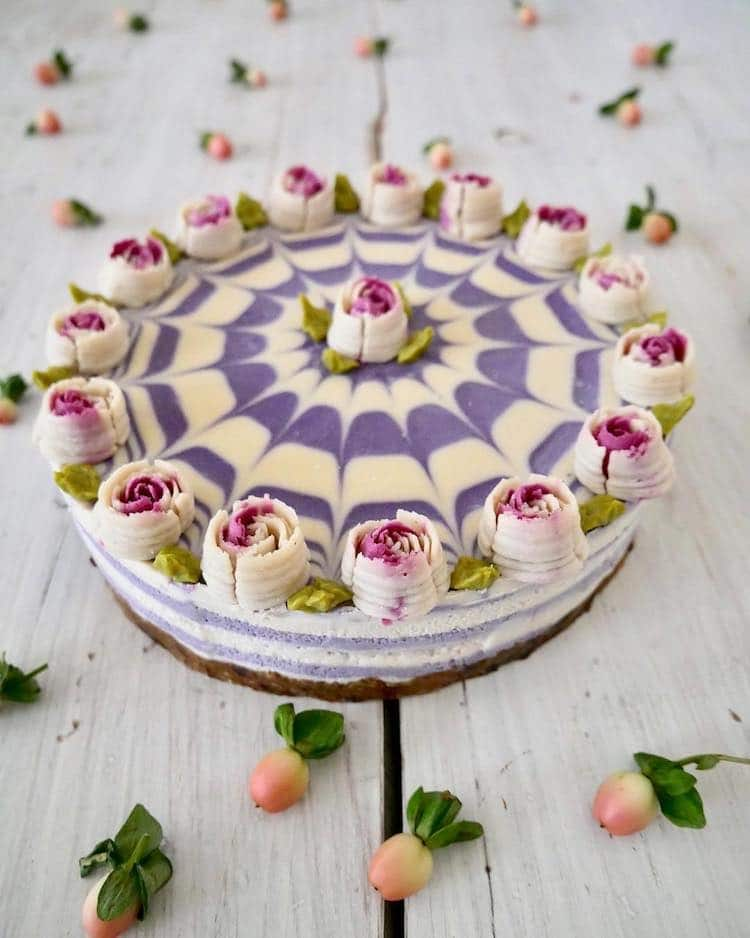 Confectionery Artist No-Bake Raw Vegan Cake That Look Like ...