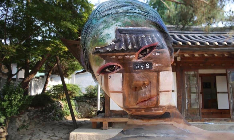 Dain Yoon Creates Mind Bending Body Art With Optical Illusion Makeup