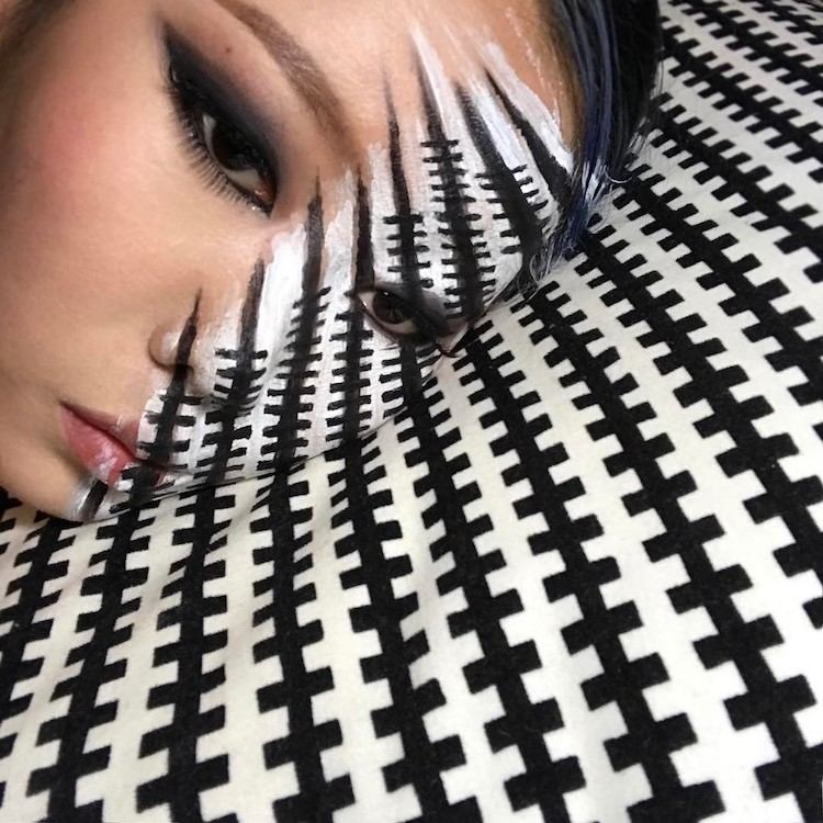 Optical Illusion Makeup