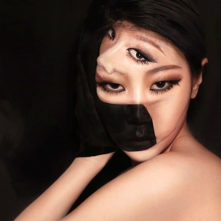 Dain Yoon Body Painting Illusion Art