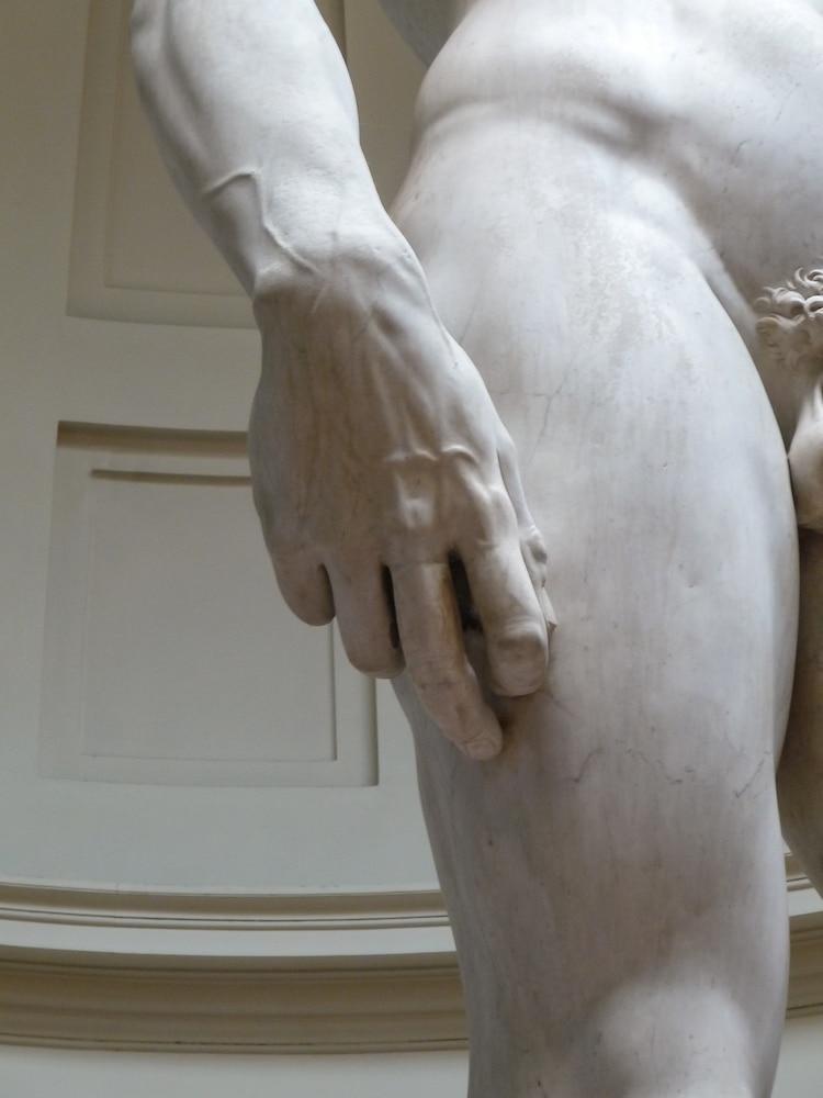 David Sculpture's Hand