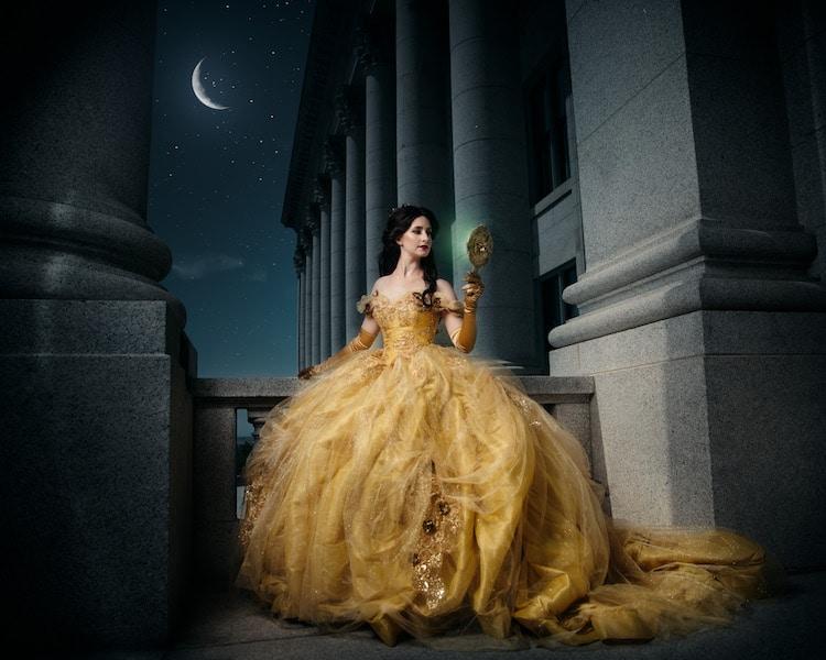 Disney Queens Disney Princesses Mother-Daughter Photo Shoot Tony Ross