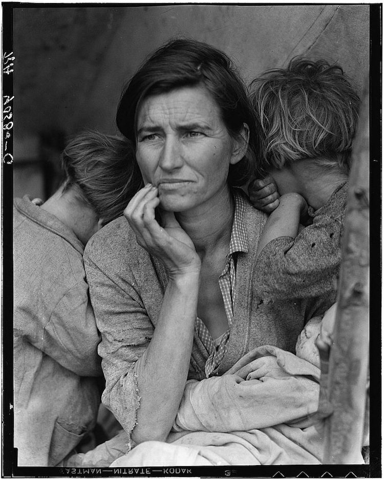 dorothea lange migrant mother photojournalism