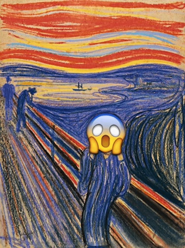 Edvard Munch The Scream Painting