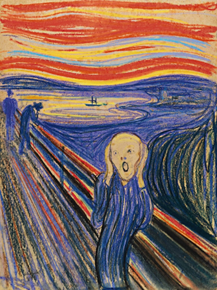 Edvard Munch The Scream Painting