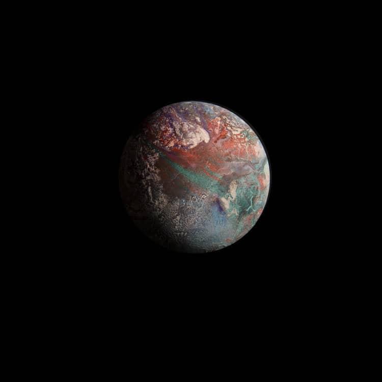 Planet Diorama Photography Exoplanets Miniatures Adam Makarenko