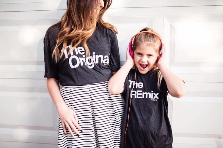 99e871cd The Original and The Remix Family T-Shirts Funny T-Shirts Clever T-