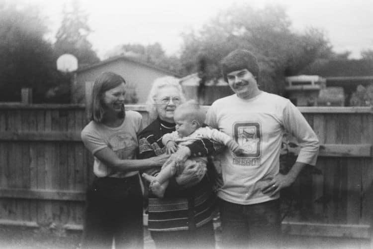 Found Film Family Portrait