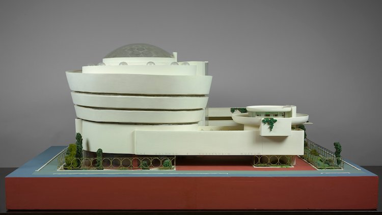 Frank Lloyd Wright model guggenheim