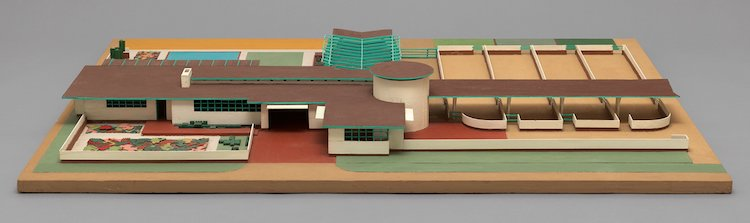 Frank Lloyd Wright Exhibit MoMA