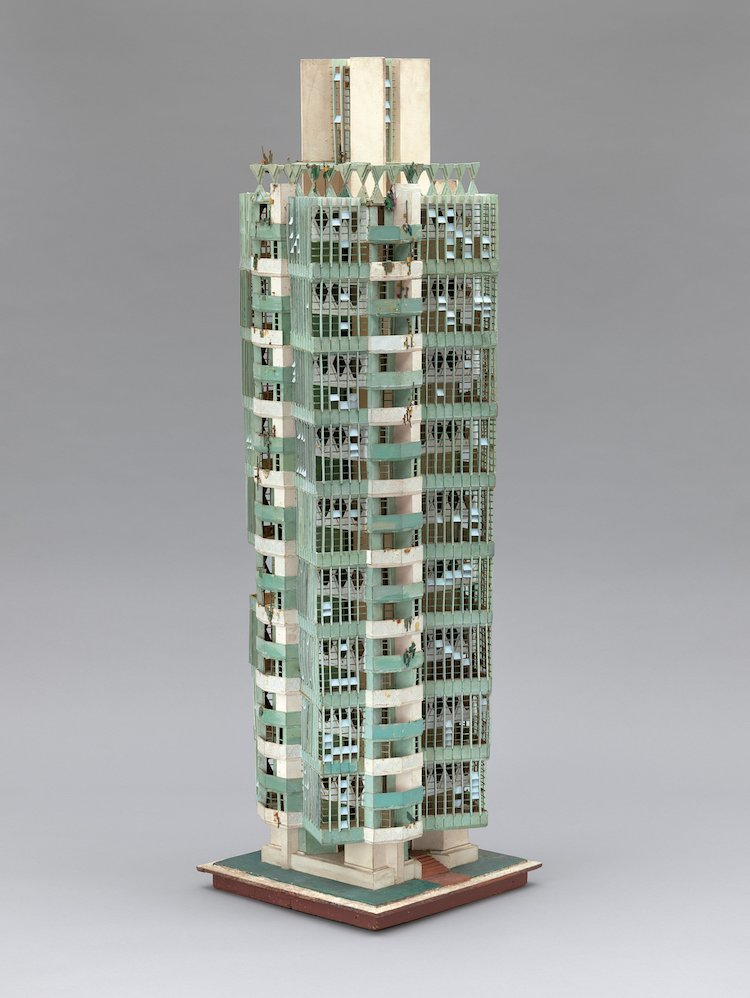 Frank Lloyd Wright Exhibit MoMA