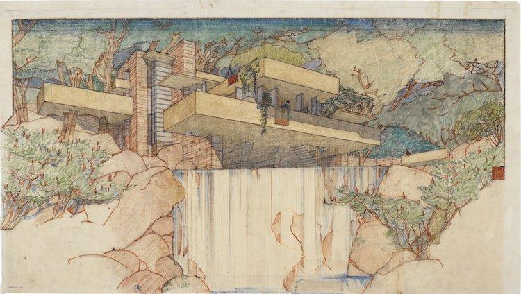Frank Lloyd Wright Exhibition MoMA
