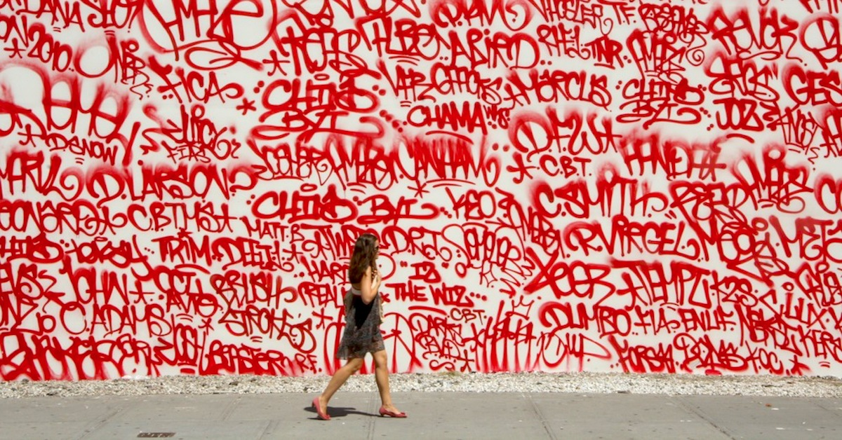 a discussion on graffiti and its forms The fast-fashion says graffiti shouldn't be this brings about a larger discussion of who gets to say it renders countless forms of public art unprotected.