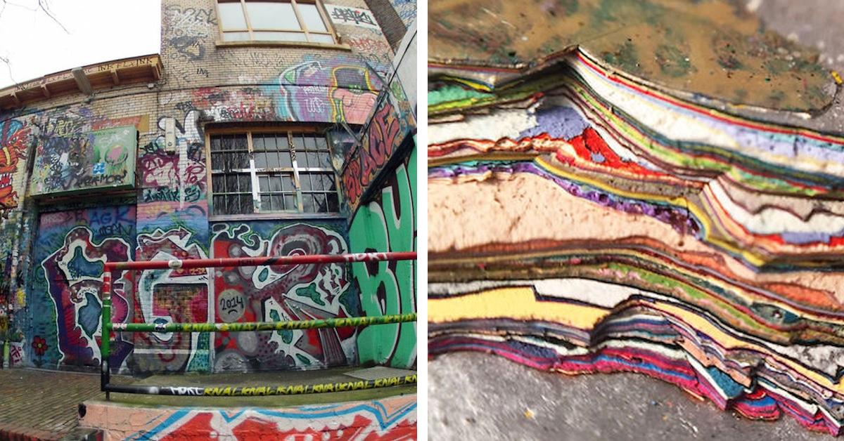 Architecture Graffiti Wall Art