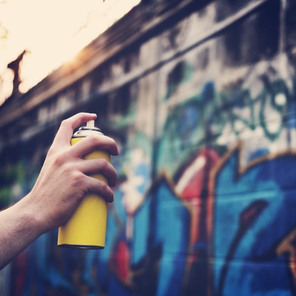 Graffiti Artist SprayPaints CelloGraff Forest Animals Onto - Street artist turns street furniture into characters