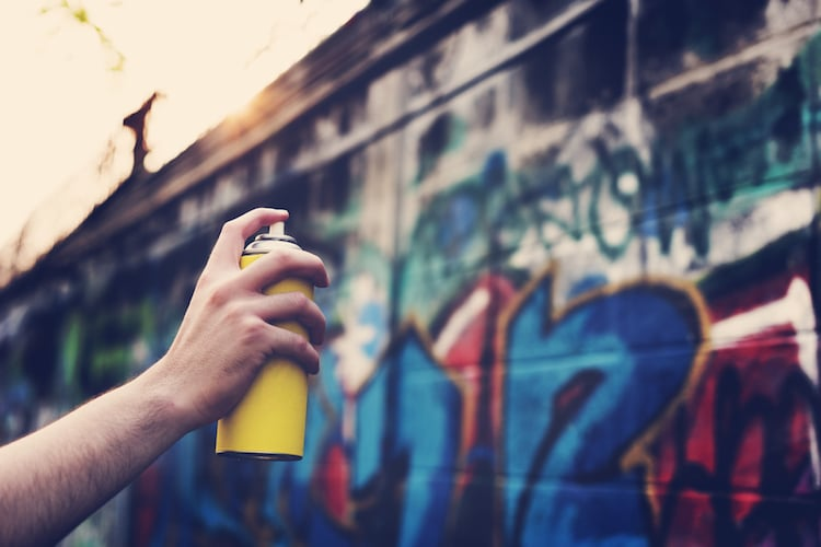 history of graffiti art