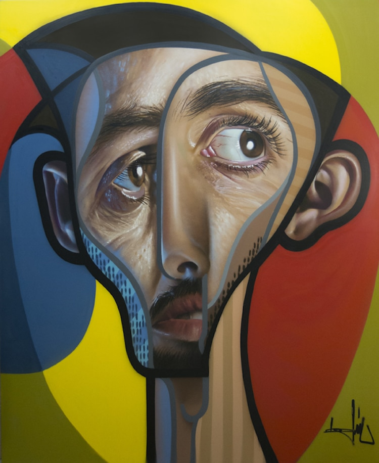 Cubism Hyperrealism Graffiti Portraits Belin Picasso