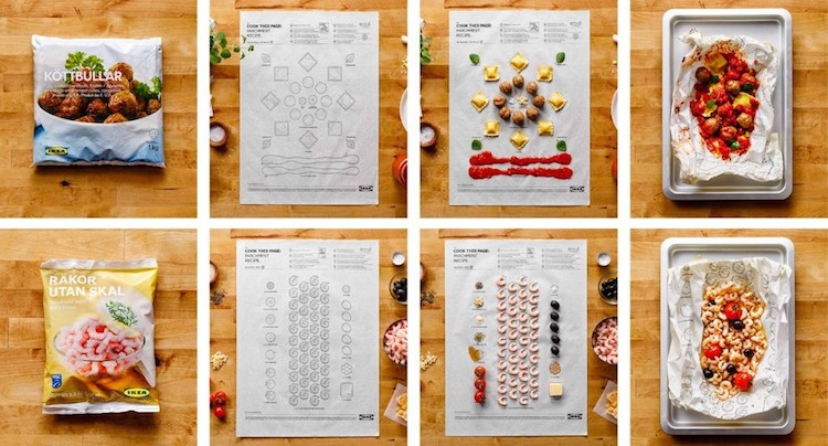 Ikea Food Made Simple With Fill In The Blanks Paper Instructions