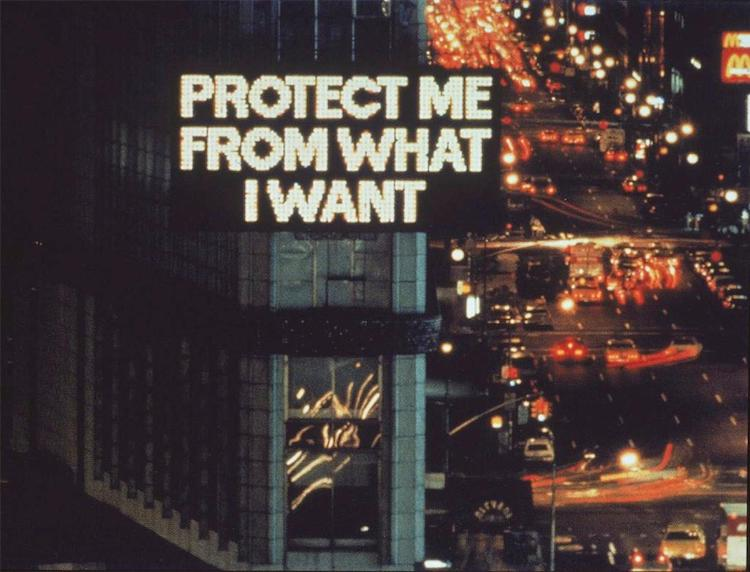 Jenny Holzer - Text Artist - Projection Art