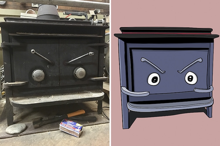 Inanimate Objects with Faces