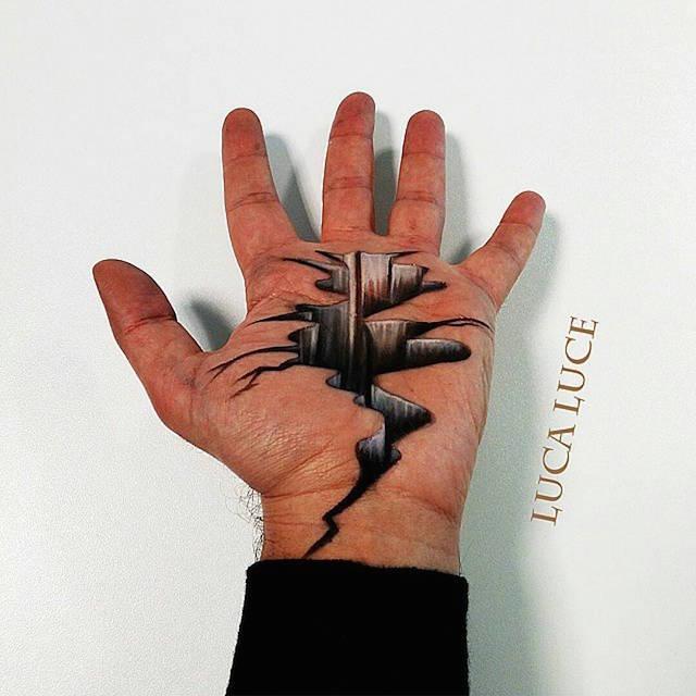 Luca Luce Illusion Art