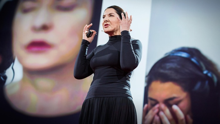 Marina Abramovic Best TED Talks