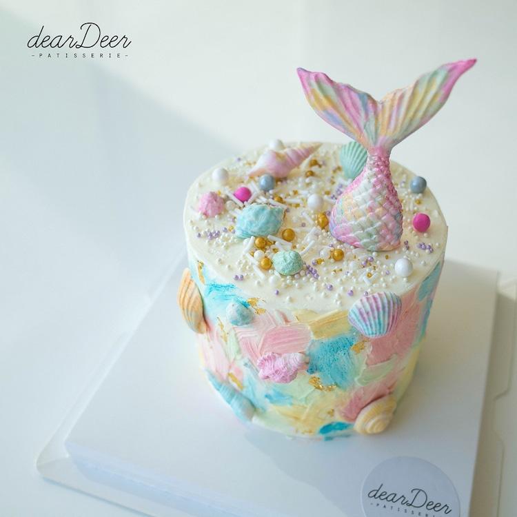 Ideas para Decorar Pasteles Pastel de Sirena